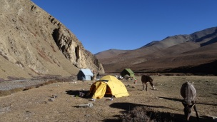 The Rapka campsite, very remote and isolated.